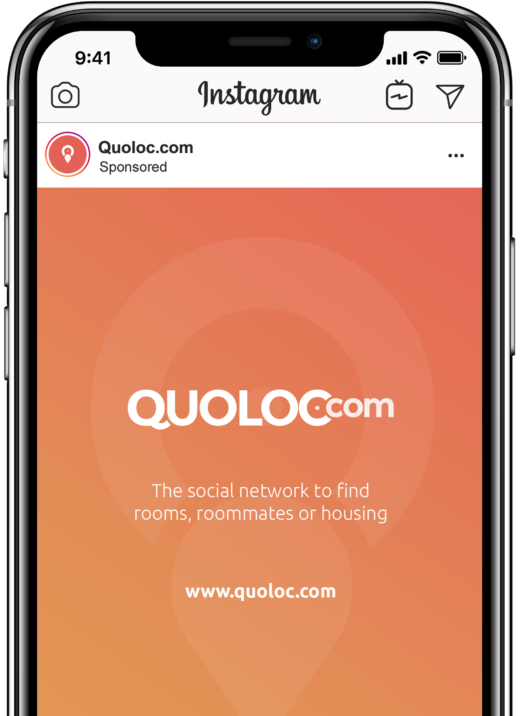 quoloc.com ad social media instagram marketing logo agence montreal agency montréal