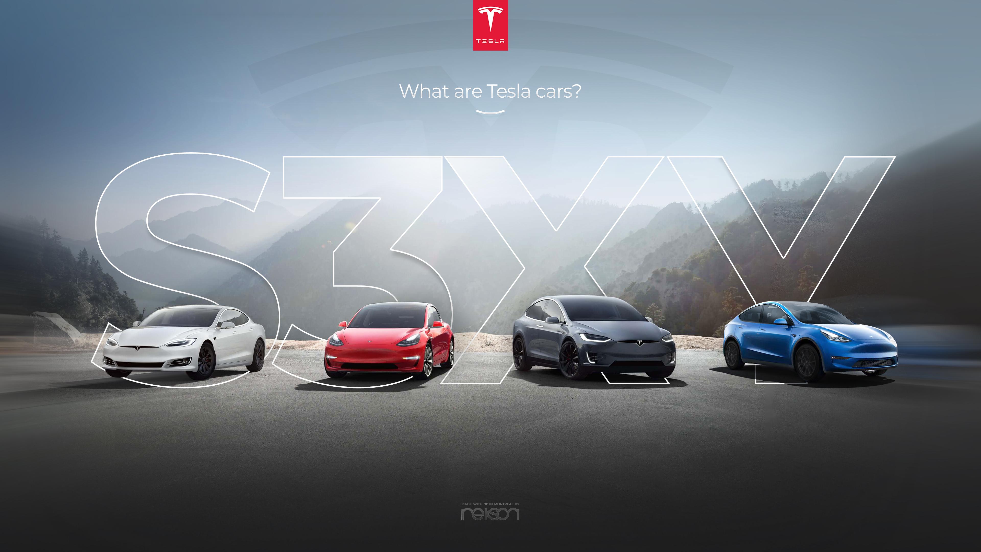 The New Tesla Website Webdesign We Made Montreal Digital Agency
